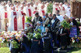 [FOTOS] Misa en el corazón de la Araucanía
