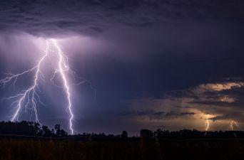 [FOTOS] Revisa cómo fue la tormenta eléctrica que sorprendió a la región de La Araucanía
