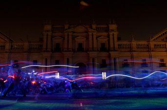 [FOTOS] Ecosistema: La masiva coreografía que marcó la clausura de Santiago a Mil 2018