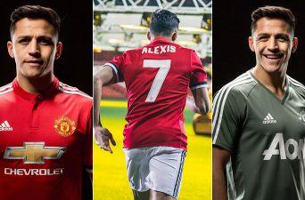 [FOTOS] Las primeras imágenes de Alexis Sánchez con la camiseta del United