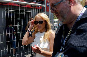 [FOTOS] Así fue la llegada de Kylie Minogue a la Fórmula E