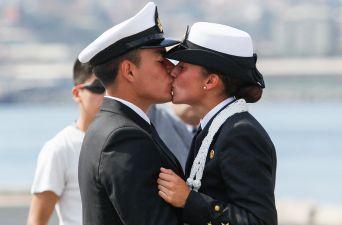[FOTOS] Buque Escuela Esmeralda inicia su 63° Crucero de Instrucción