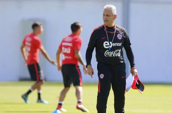 """[FOTOS] El primer entrenamiento de Reinaldo Rueda al frente de """"La Roja"""""""