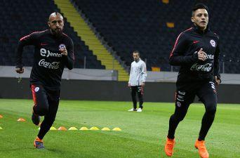 """[FOTOS] El último entrenamiento de """"La Roja"""" antes de enfrentar a Suecia"""