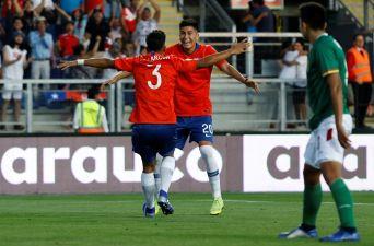 [FOTOS] Las mejores imágenes del debut de La Roja en el Sudamericano Sub 20