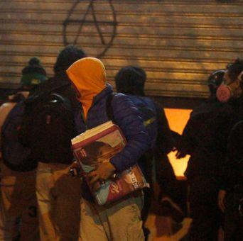 Burgos por incidentes: Este tipo de delincuentes actúan en marchas autorizadas o no autorizadas