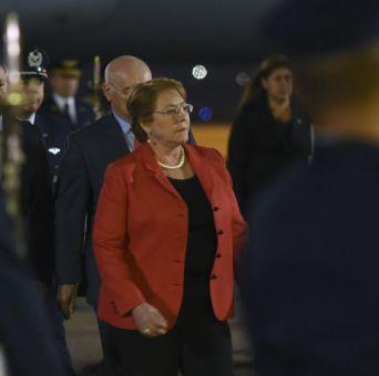 Michelle Bachelet en Paraguay