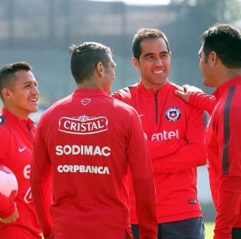 La selección chilena tiene libre hasta mañana sábado