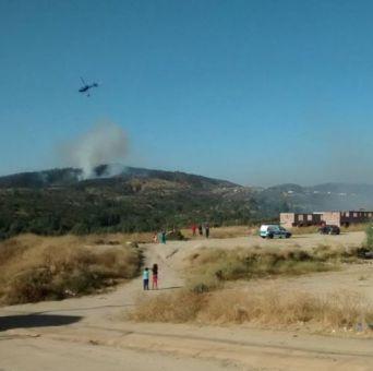 Incendio forestal: Onemi declara Alerta Roja para la comuna de Villa Alemana