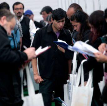 El desempleo se ubicó en 6,3% en el trimestre agosto-octubre