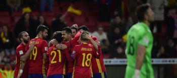 España golea a Israel en las Clasificatorias europeas rumbo a Rusia 2018