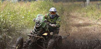 Chileno Sebastián Palma finalizó el Dakar en el octavo puesto de la categoría quads