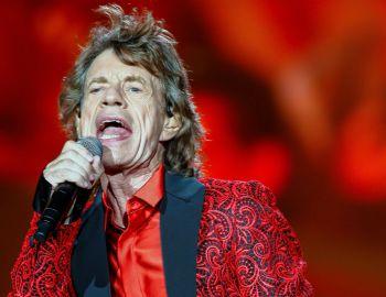 """Mick Jagger lideró el saludo de """"The Rolling Stones"""" a ChileAFP"""