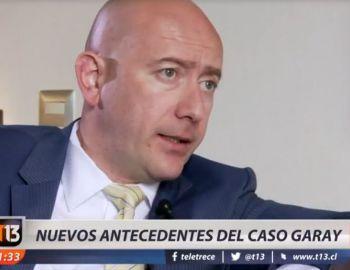 [VIDEO] Rafael Garay sigue prófugo y se suman nuevos antecedentes