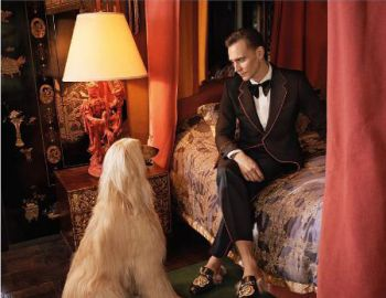 Tom Hiddleston, nuevo rostro de Gucci