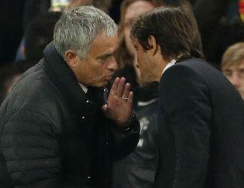 Mourinho encara a técnico de Chelsea por gestos que consideró una humillación