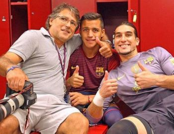 [FOTO] Alexis Sánchez recuerda su paso por FC Barcelona