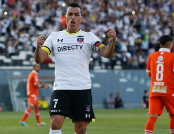 """Paredes sella renovación en Colo Colo: """"Guede ha sido fundamental en mi alza de rendimiento"""""""