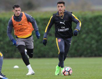 """Alexis está de vuelta en Arsenal FC y ya entrena junto a los """"Gunners"""""""