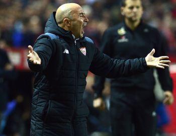 Sevilla de Jorge Sampaoli cierra la ida de los octavos de final de la Champions League