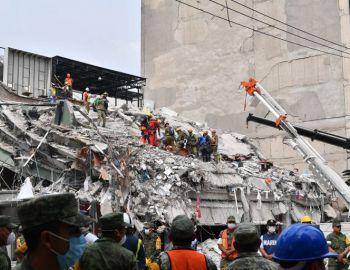 México fue azotado por un terremoto este martes