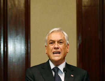 Piñera acusa al gobierno de utilizar la Constitución como instrumento de campaña electoral