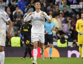 Cristiano Ronaldo alcanza a Harry Kane en la tabla de goleadores de la Champions