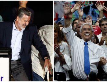 Las duras críticas de Guillier y el perdón de Piñera: Las frases que marcaron los cierres de campaña
