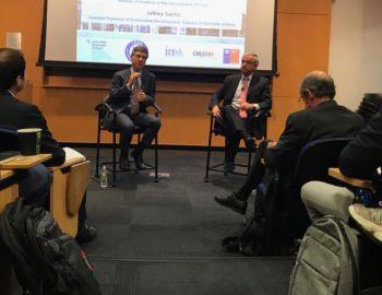 Ministro Larraín comienza actividades del ChileDay en Nueva York