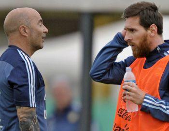 [VIDEO] El juramento de Argentina tras cumbre entre Sampaoli, los jugadores y la AFA