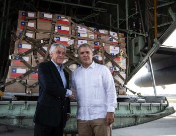 """Piñera llega Cúcuta y pide """"elecciones libres y transparentes"""" en Venezuela"""
