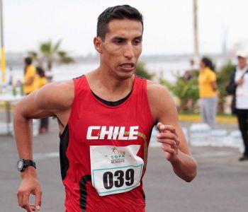 Yerko Araya finaliza 39° en los 20 km marcha del Mundial de Atletismo