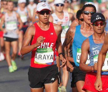 Chileno Edward Araya es descalificado en la marcha de Río 2016