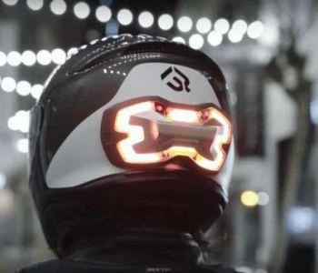 [FOTOS] Conoce el indicador de freno para motos que puede salvar tu vida