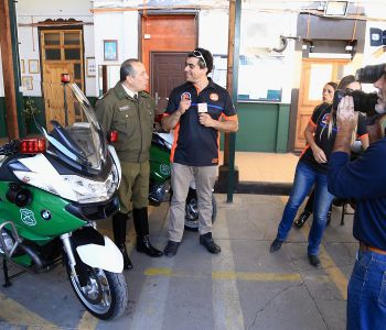 [FOTOS] D13 motos se hace presente y comparte con Carabineros de 57° comisaría motorizada