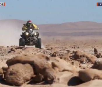 [VIDEO] Jeremías Israel te invita a conocer en D13 motos que es el Desafío Desierto 2017