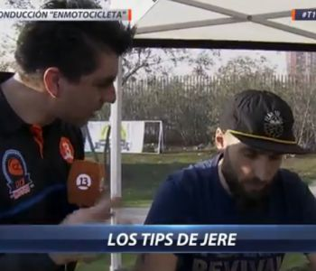 [VIDEO] Jeremías Israel en D13 Motos nos da tips de conducción
