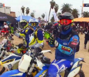 [VIDEO] Así fue la largada protocolar del Desafío del Desierto en D13 Motos