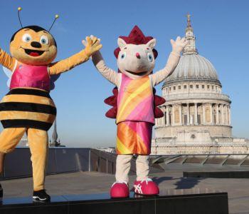 [FOTOS] Whizbee y Hero: Las mascotas del Mundial de Atletismo de Londres