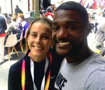 [FOTOS] Isidora Jiménez ya está en Londres y comparte con figuras del Mundial de Atletismo