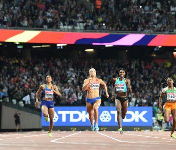 [VIDEO] La apasionante final de 200 metros donde Dafne Schippers se llevó el oro