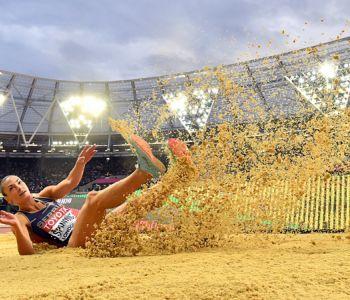 [VIDEO] El polémico salto que dejó sin oro a Spanovic por culpa de su dorsal