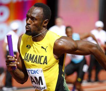 [VIDEO] Así fue la clasificación de Bolt y Jamaica a la final de 4x100