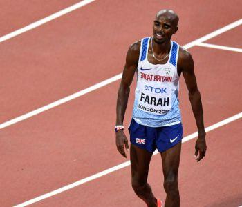 Mo Farah es sorprendido por Muktar Edris y se despide con una plata en los 5.000 metros