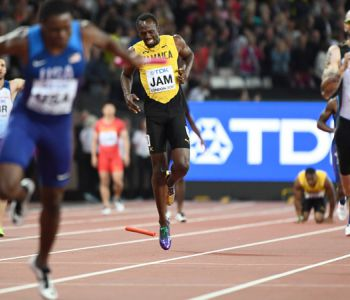 [VIDEO] Revive la última carrera de Usain Bolt en el atletismo en Londres 2017
