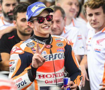 MotoGP: Marc Márquez se queda con la pole en Gran Bretaña con récord incluido