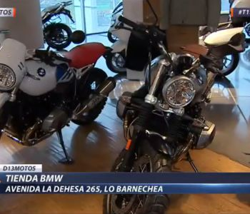 [VIDEO] D13 Motos presenta los mejores modelos de la tienda BMW Motorrad