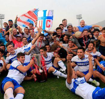 [FOTOS] La UC obtiene el título del Clausura y logra el undécimo título de su historia