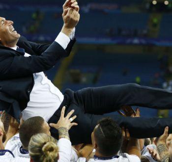 Zidane se une a selecto grupo de ganadores de Champions como jugador y entrenador