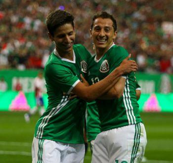 México vence a Paraguay en duelo de preparación para la Copa América Centenario